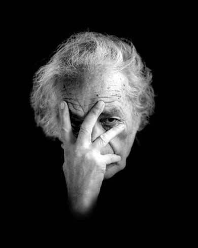 O poeta chileno Nicanor Parra, 100 (Foto: Berta López Morales)