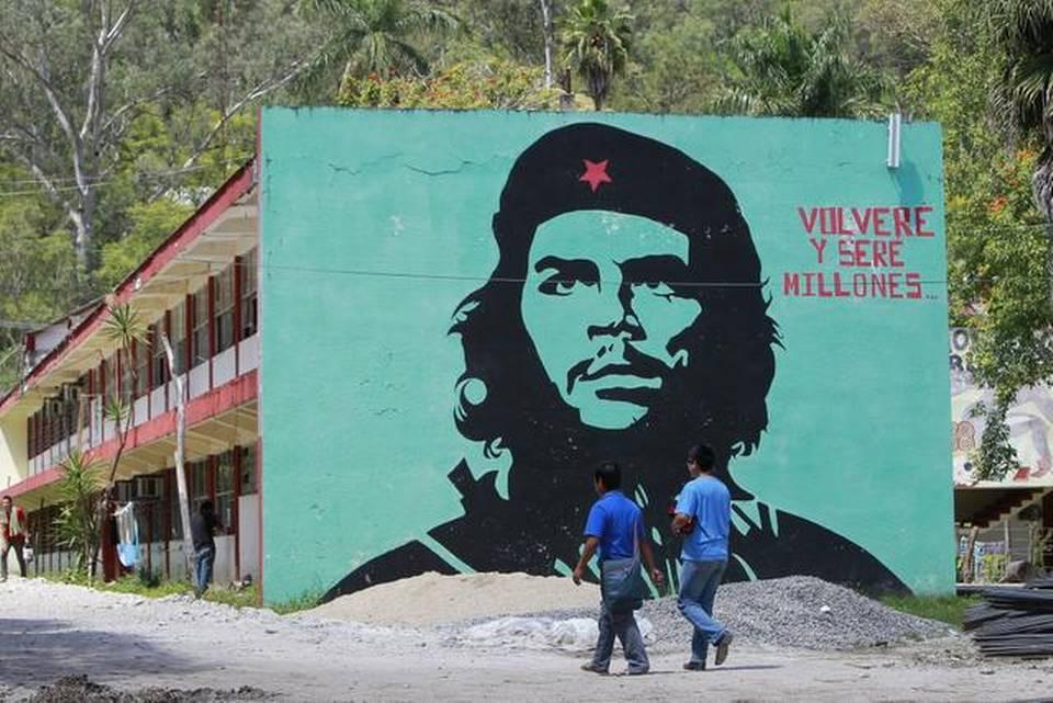 Escola rural de Ayotzinapa (Foto: Telesur)