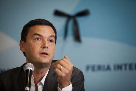 O economista francês Thomas Picketty, na FIL (Foto: Divulgação)