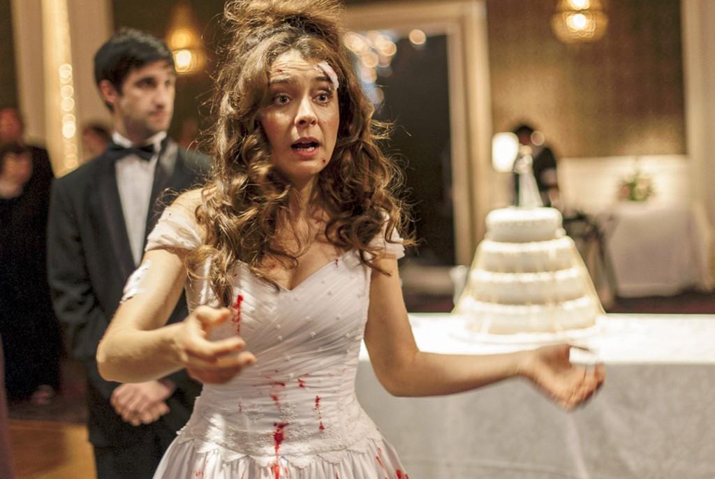 """A atriz Erika Rivas, em cena de """"Relatos Selvagens"""" (Foto: Divulgação)"""