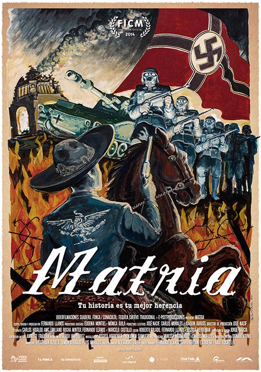 """Cartaz do filme """"Matria"""" (Divulgação)"""