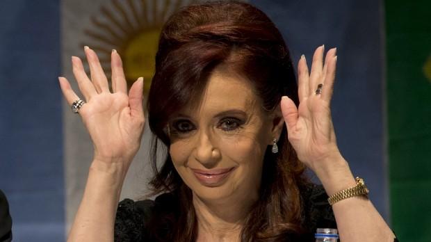 A presidente argentina, Cristina Kirchner (Foto: AP)