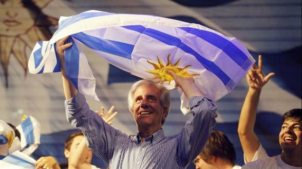 O presidente do Uruguai, Tabaré Vázquez