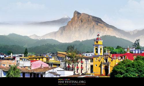 O cartaz do Hay Festival de Xalapa (Foto: Divulgação)