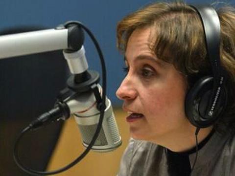 A jornalista mexicana Carmen Aristégui (Foto:  AP)