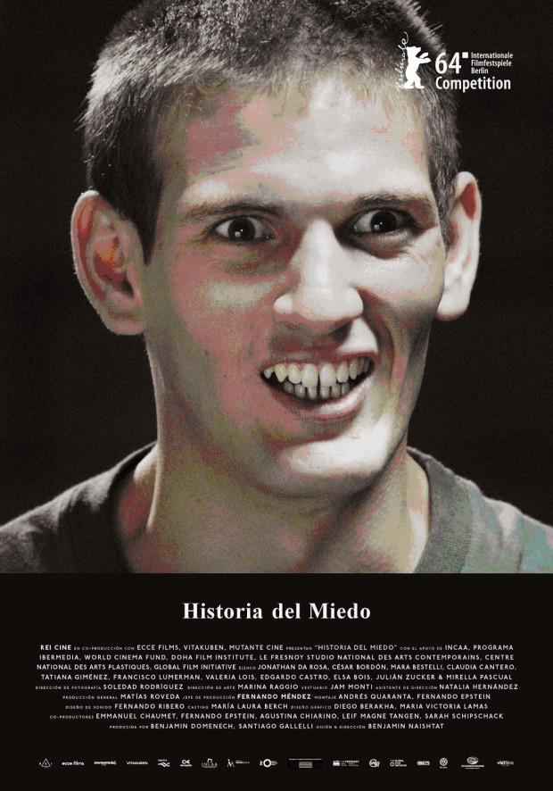 """Cartaz de """"Historia del Miedo"""""""