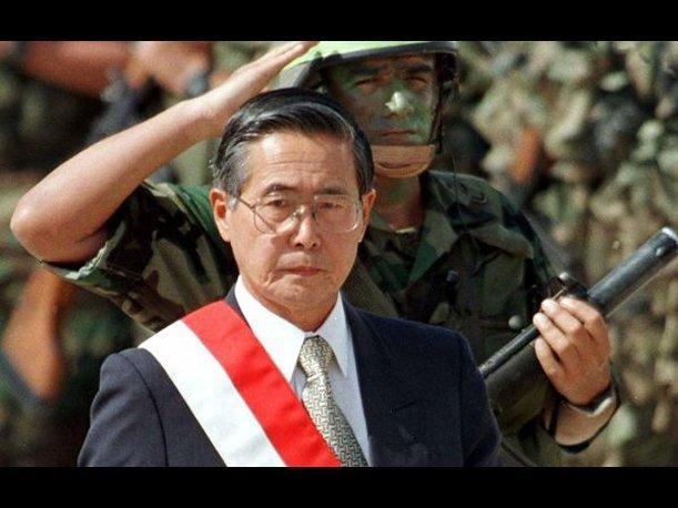 O ex-presidente e ditador peruano Alberto Fujimori (Foto: El Comercio=