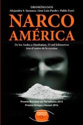 """Capa de """"Narcoamérica"""""""