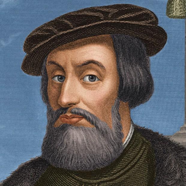 O conquistador espanhol Hernán Cortés (1485-1547)