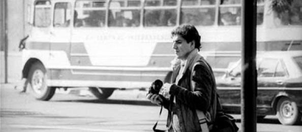 O fotógrafo chileno Rodrigo Rojas, queimado vivo em 1986 (Foto Reprodução)