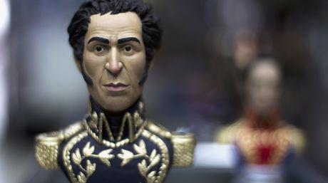 Busto de Simón Bolívar (Foto Reuters)