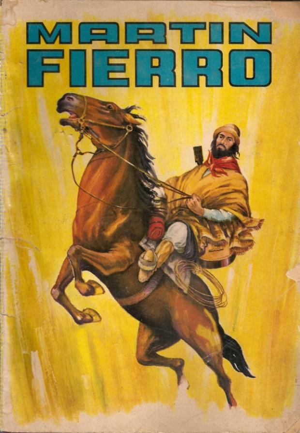 """Capa do livro """"Martín Fierro"""", de José Hernandez (Foto: Reprodução)"""
