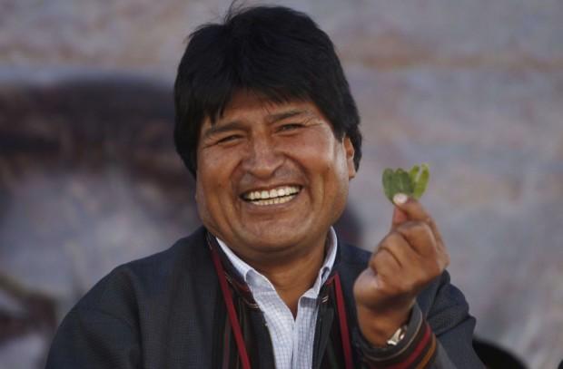 O presidente boliviano Evo Morales (Foto Reuters)