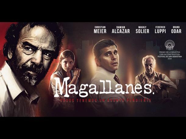 """Cartaz do filme """"Magallanes"""" (Foto Divulgação)"""