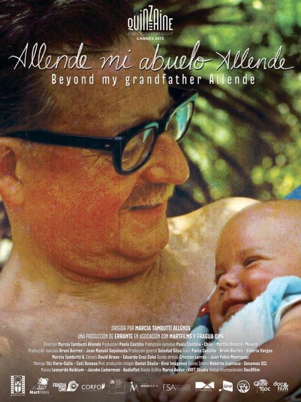 """Cartaz do filme """"Allende, mi Abuelo Allende"""" (Foto Divulgação)"""