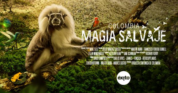 """Cartaz de """"Colombia Magia Salvaje"""" (Foto Divulgação)"""