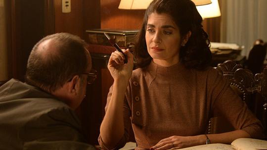 """A atriz Soledad Villamil, em cena de """"Variaciones Walsh"""" (Foto Divulgação)"""