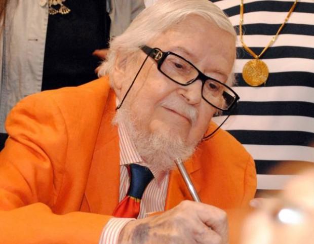 O escritor mexicano Fernando Del Paso, ganhador do prêmio Cervantes (Foto El Universal)