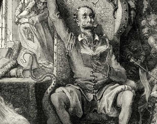 """Ilustração de Gustave Doré para o """"Dom Quixote"""" (Foto Divulgação)"""