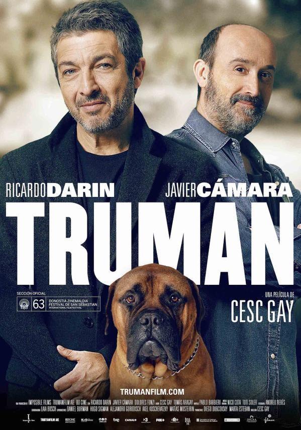 """Cartaz de """"Truman"""", filme espanhol com Ricardo Darín e Javier Cámara"""