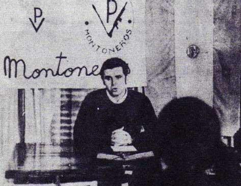 O líder montonero Mario Firmenich, responsável por assassinatos de militares, exilado na Espanha (Foto Arquivo)