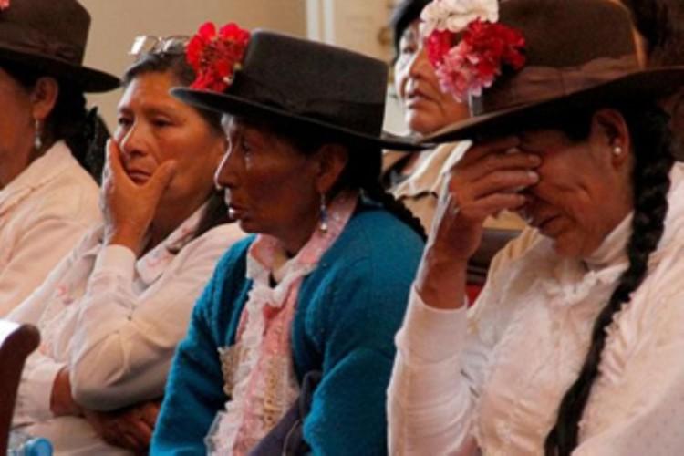 Mulheres esterilizadas sem consentimento, no Peru (Foto AP)