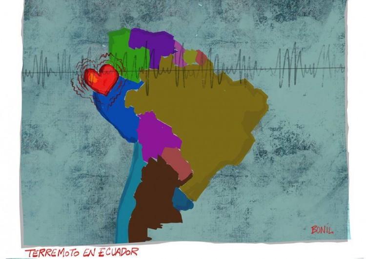 Ilustração do cartunista Bonil (Divulgação)