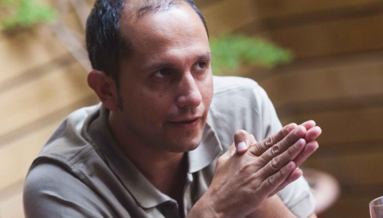 Jordi Carrión, escritor catalão (Foto Divulgação)