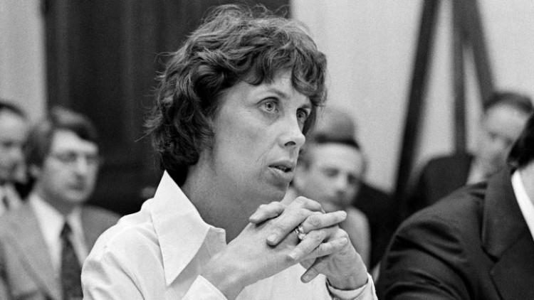 Patricia Derian, secretária na gestão Jimmy Carter, em imagem dos anos 1970 (Foto Reuters)