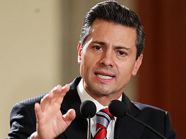 O presidente mexicano Enrique Peña Nieto (Foto Reuters)