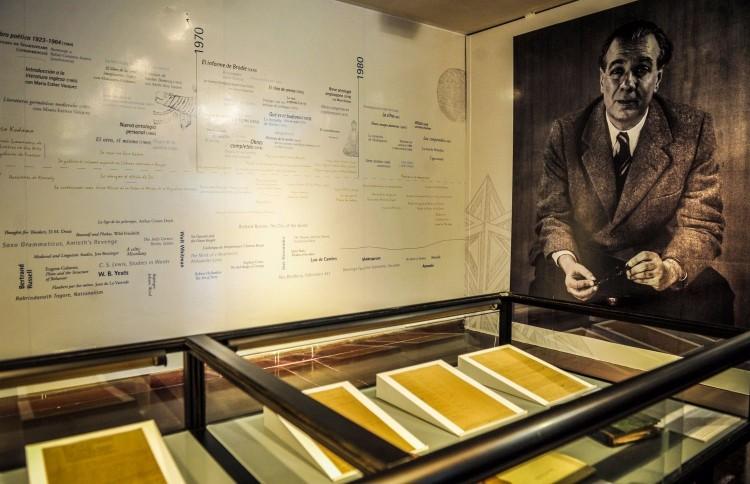"""Exposição """"Borges, El Mismo, Otro"""", na Biblioteca Nacional de Buenos Aires (Divulgação)"""