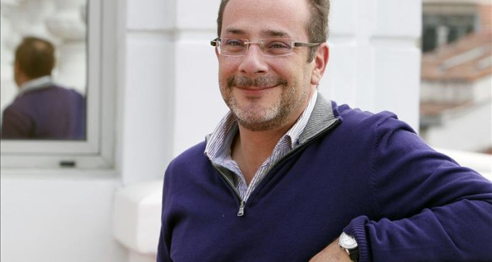 O escritor mexicano Ignacio Padilla, morto num acidente de carro (Foto Divulgação)