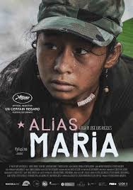 "Cartaz de ""Alias Maria"", representante colombiana no Oscar 2017"