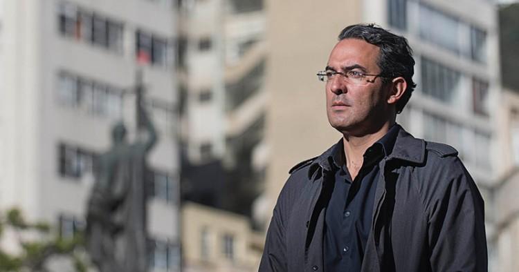 O escritor colombiano Juan Gabriel Vázquez (Foto Semana)