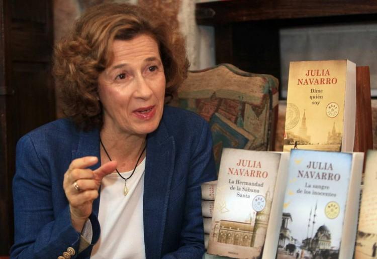 A autora de best-sellers espanhola Julia Navarro (Foto Divulgação)