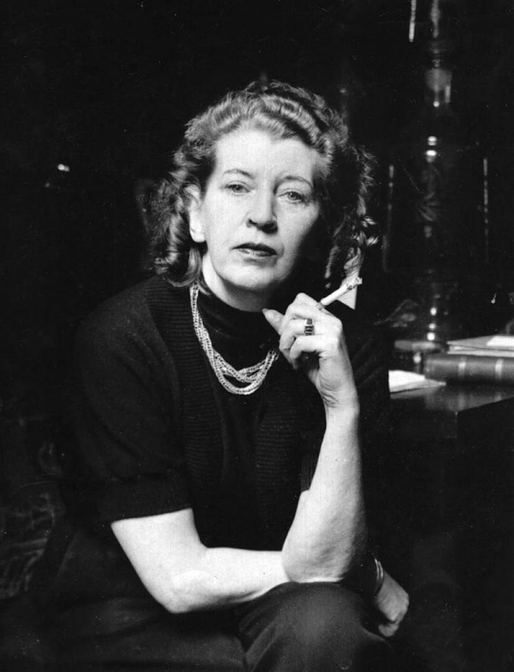 A escritora Norah Lange (Foto Divulgação)