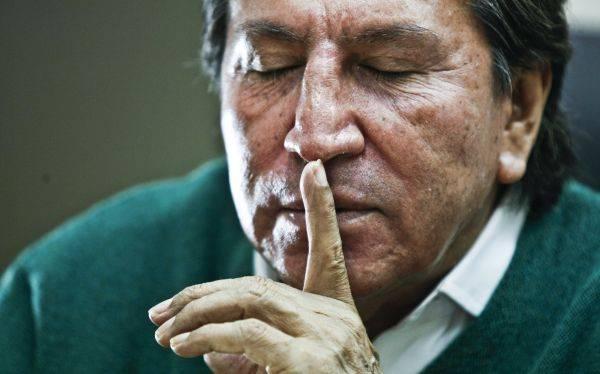 O ex-presidente peruano Alejandro Toledo (Foto El Comercio)